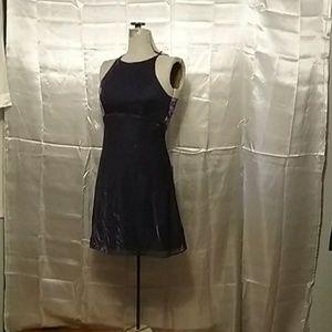 Purple Shimmer Dress Size 6